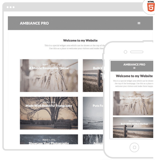 Genial! 3 estupendos themes de wordpress para fotógrafos - Blog