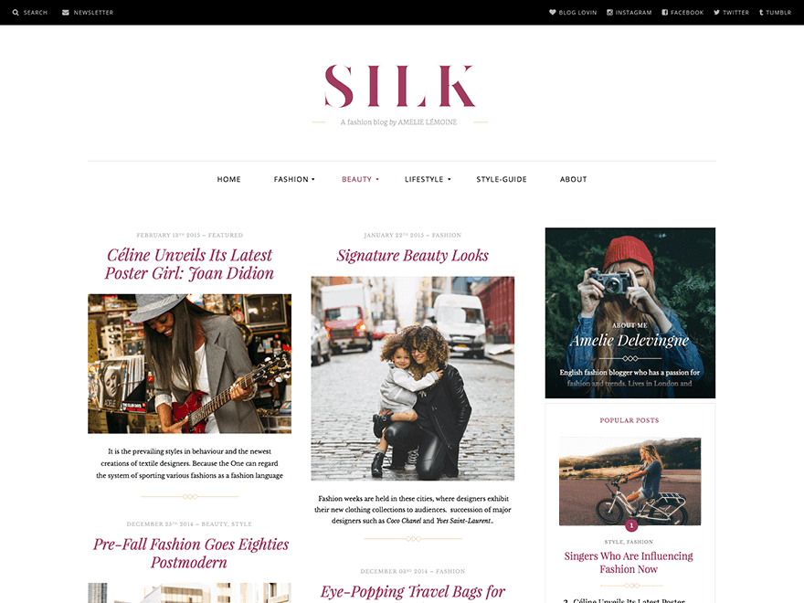 Silk theme para WordPress