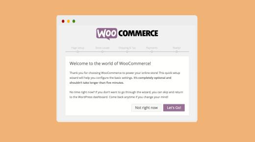 Asistente de configuración de WooCommerce