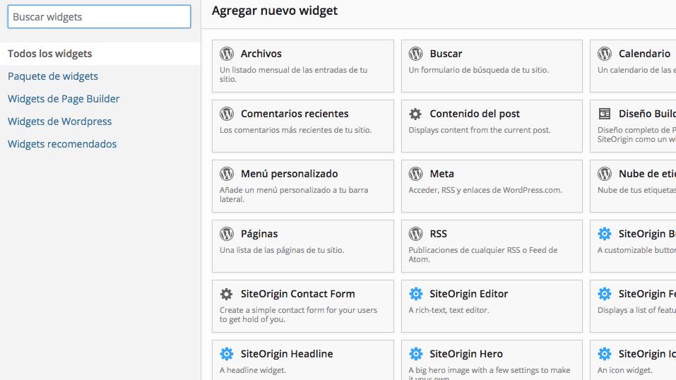 Page Builder Widgets