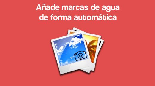 Marcas de agua imagenes WordPress
