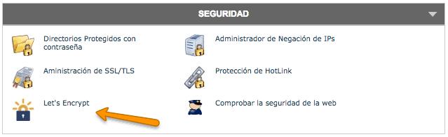 cPanel SiteGround seguridad