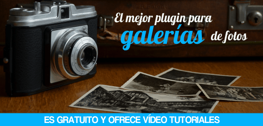 Plugin WordPress para galerías de fotos