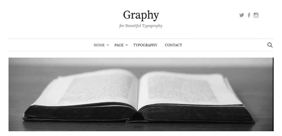 Tema wordpress responsive Graphy