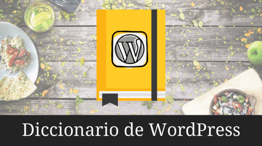 Diccionario de WordPress para dummies