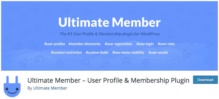 Plugin Ultimate Member