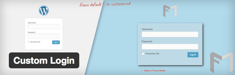 editar formulario login plugin