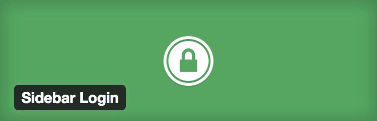 plugin sidebar login