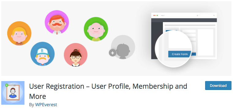 Plugin user registration