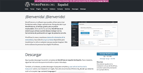 WordPress.org definicion