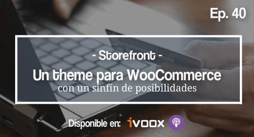 Storefront theme para woocommerce