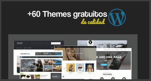 +60 Themes WordPress gratuitos de calidad