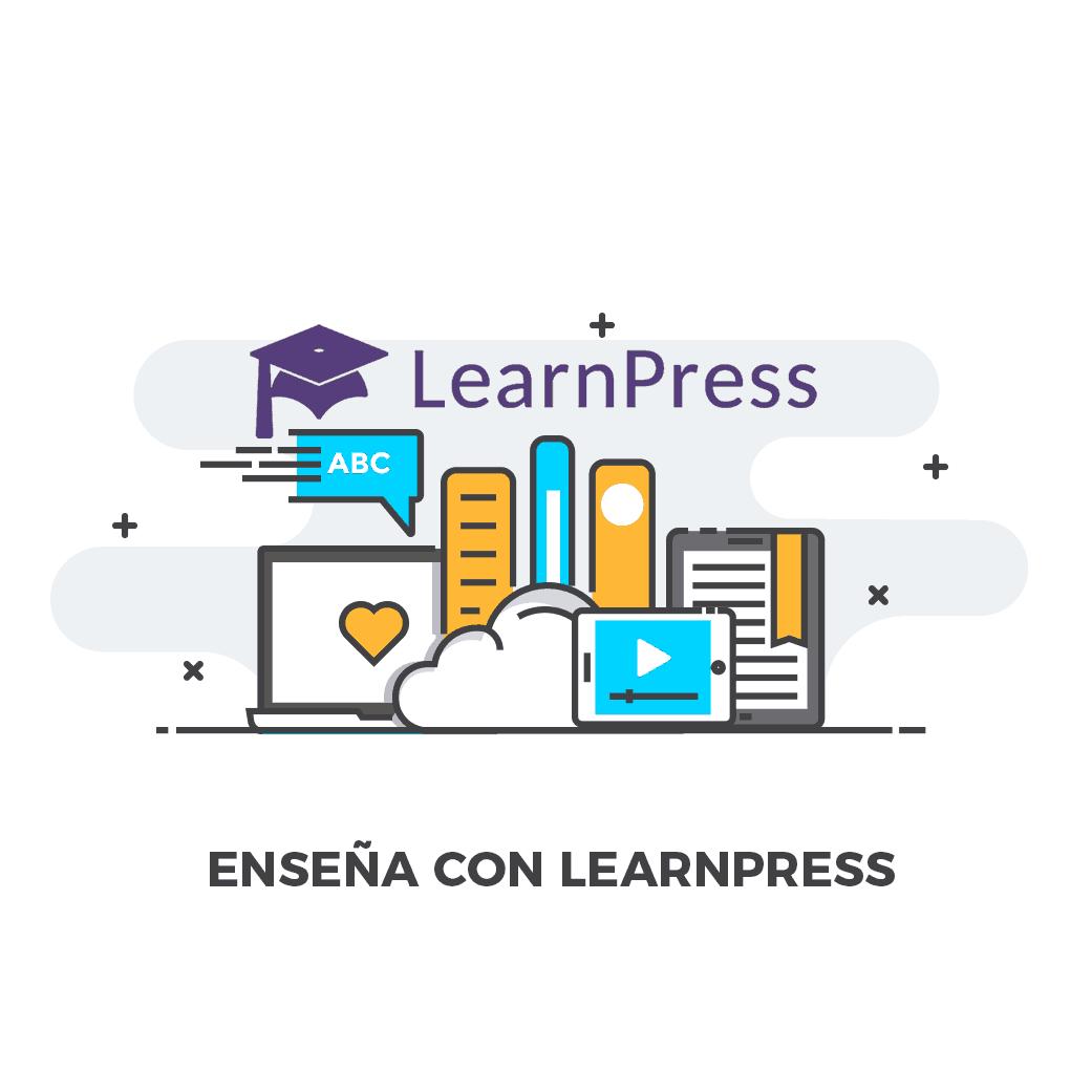 Curso de LearnPress Ensena online