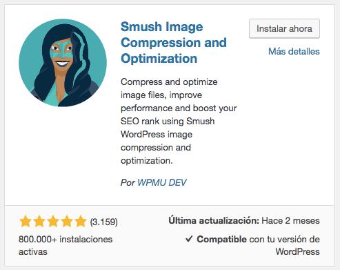 Instalar WP Smush