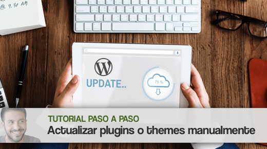 Actualizar plugins y themes de forma manual