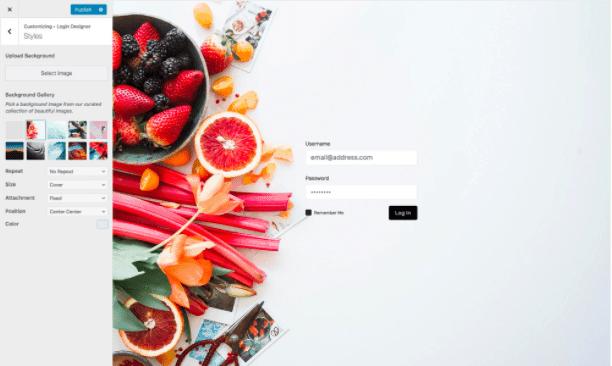Plugin personalizar login de WordPress