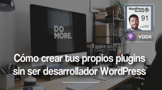 Crear plugins en WordPress sin ser desarrollador