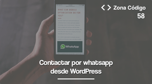 58. Contactar por WhatsApp desde WordPress y sin plugins