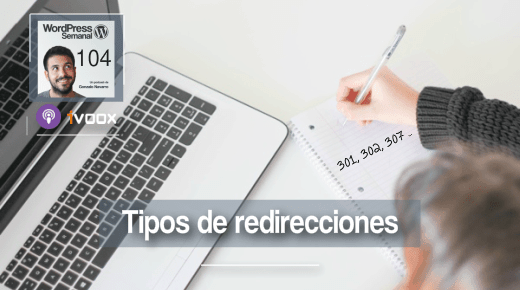 104 | Tipos de redirecciones en WordPress: cuál hacer