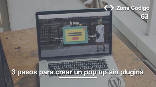 popup en WordPress
