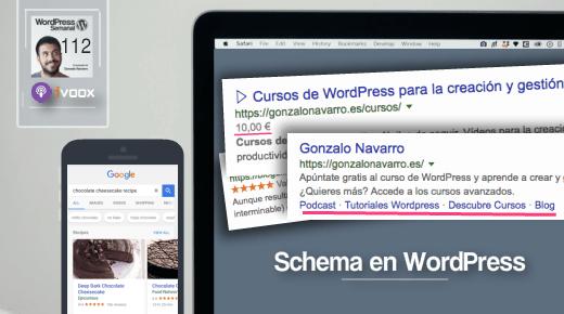 112 | Schema en WordPress: cómo agregar datos estructurados