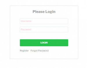 plugin login pop up