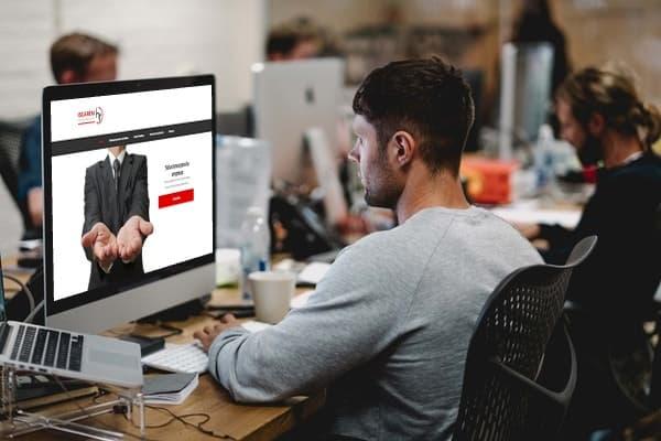 Portfolio – Iscarem: Web corporativa de una empresa de Recursos Humanos