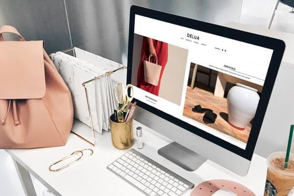 Portfolio – Deluashop: una tienda online de accesorios para mujer.