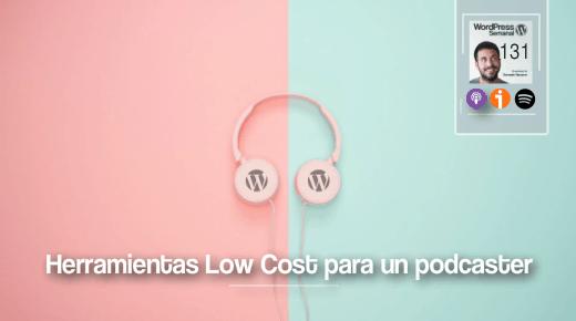Herramientas low cost para un podcaster