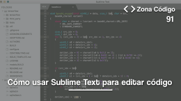 91. Cómo usar Sublime Text (editor de código)