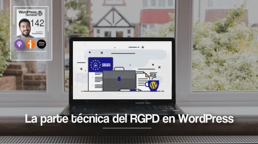 Implementar el RGPD en WordPress