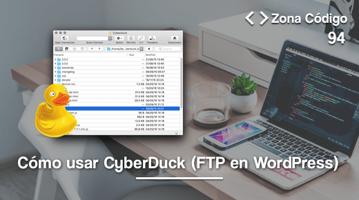 Tutorial CyberDuck FTP WordPress
