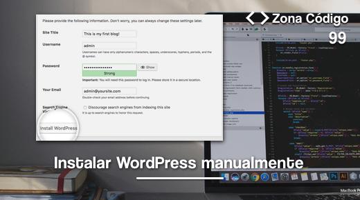 Instalar WordPress manualmente