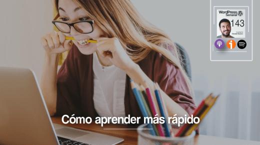 Aprender rápido (no sólo WordPress)