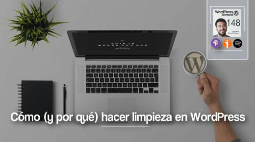 148 | Cómo y por qué hacer limpieza en WordPress