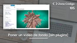 105. Poner un vídeo de fondo en WordPress sin plugins (sólo css)