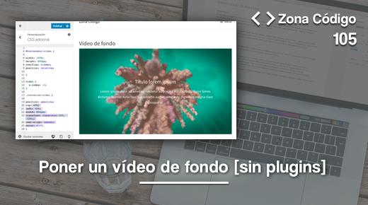 Video de fondo en WordPress con css