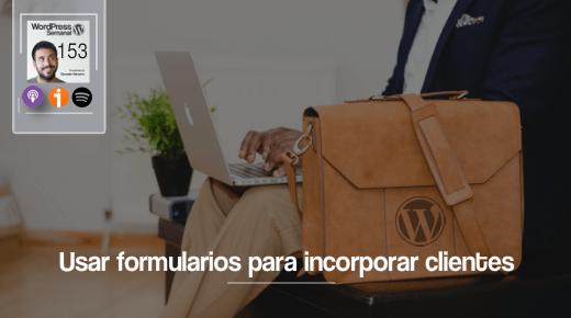 Formularios clientes wordpress