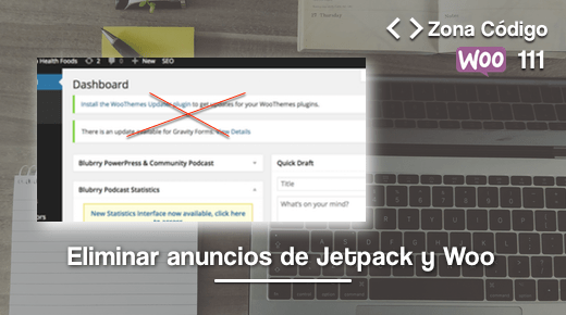 Eliminar anuncios Jetpack
