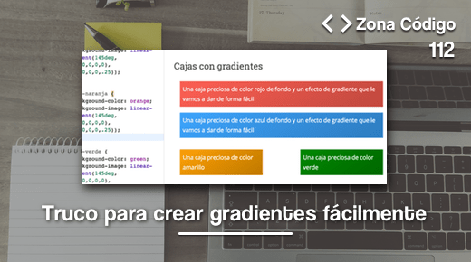 Gradientes css WordPress