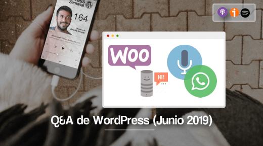 164 | Q&A sobre pérdida de pedidos y correos en Woo, calidad de audio en podcast, chatbots y subdominio para el blog