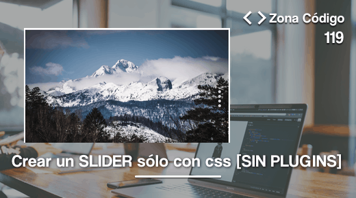 Slider con css en WordPress