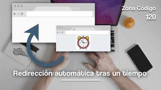 Redireccion automatica de una web