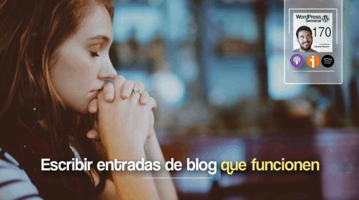 Como escribir posts de blog