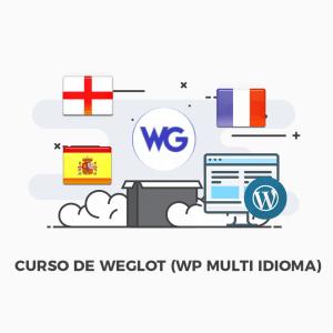 Curso Weglot Multilingue Multi idioma