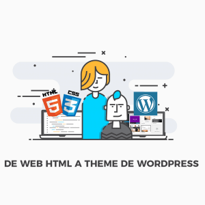Curso web html a theme de WordPress