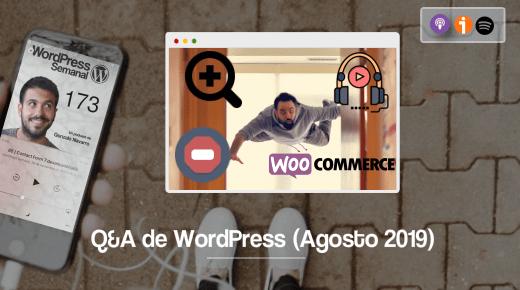 Respuestas WordPress de agosto