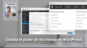 Menus WordPress Mejorados
