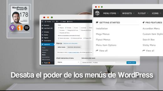 178 | Cómo mejorar (y aprovechar) los menús de WordPress