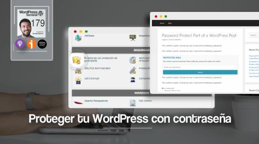 179 | Proteger WordPress con contraseñas (Todas las posibilidades)